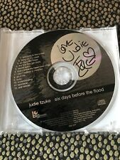 Judie Tzuke -  Six Days Before The Flood -  live - Signed CD album - big moon