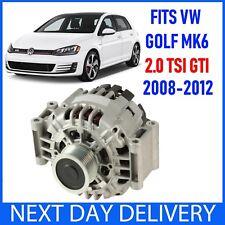 VOLKSWAGEN VW GOLF Mk6 5K 2.0 TSI GTI (& DSG) 2008–2012 BENZINA ALTERNATORE 140 A