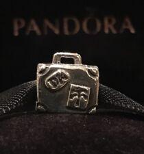 Authentic Pandora Paris Suitcase Charm Pandora Portfolio Charm Retired Pandora