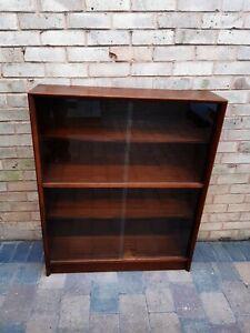 Mid Century Herbert E Gibbs Glazed Bookcase