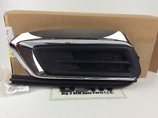 2015 2016 Chevrolet Cruze Left Driver Front Bumper Fog Lamp Opening Cover new OE