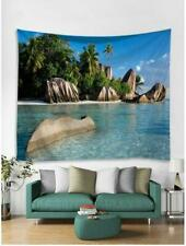 Peaceful Sea Scenery Tapestry Hippie Room Wall Hanging Psychedlic Tapestry Decor