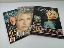 Buffy The Vampire Slayer/Angel Magazine Collection Collectable x 3