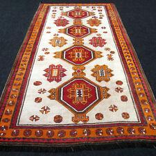 Antiker Orient Teppich 242 x 134 cm Alter Perserteppich Kaukasus Antique Carpet
