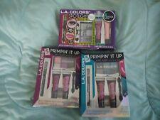 LA COLORS Makeup Sets *SET OF 3* NEW