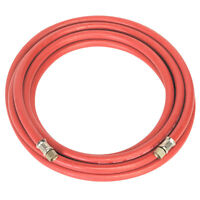 Sealey Air Hose Airline 5 metre x 8mm with 1/4 BSP Unions