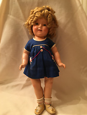 """GORGEOUS! Vintage 1935 Shirley Temple Doll 18"""" Orig. In RARE Scotty Dress Ideal"""