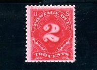 USAstamps Unused FVF US 1894 Postage Due Scott J32 OG MNH