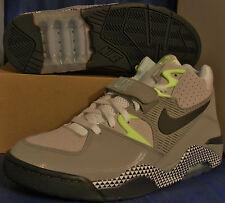 2012 Nike Air Force 180 HOH Dawn To Dusk Pack Grey Barkley SZ 10.5 (553547-013)