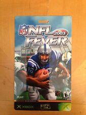 NFL Fever 2003 XBOX Lanyard Card