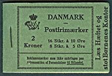 DENMARK (HRE14) 1931, Galle & Jessen Booklet, VF