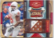quan cosby rookie auto autograph jersey patch texas longhorns college 2C 10/10