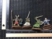 heroscape Valkyrie Vikings Knight Warrior Figures lot Dungeons And Dragons Magic