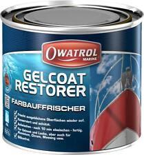 Gelcoat Restorer 0,5 l 31,80€/l Owatrol Farb Auffrischer Schutz GFK Kunststoff