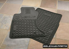 Lexus IS250 IS350 (2006-2013) (AWD) OEM ALL WEATHER FLOOR MATS PU320-4011R-AW