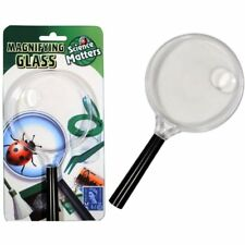 Plastic Twin Magnifying Glass 15cm - Fun Childrens Toy for Exploring Bugs Insect