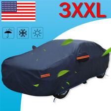 Full Car Cover Rain UV Dust Snow Resistant Universal Fit 3XXL Breathable PEVA