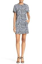 JUST CAVALLI Zebra Print Dress Made In Italy Size 42 NWT $495