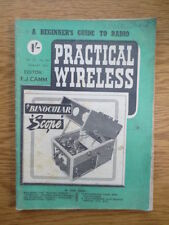 January Science & Technology Practical Wireless Magazines