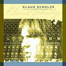 Klaus Schulze - La Vie Electronique 16 [New CD]