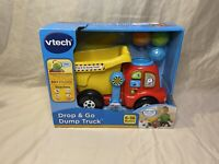 NEW- Dented Box VTech Drop and Go Dump Truck Kids Learning and Motor Skills Toy