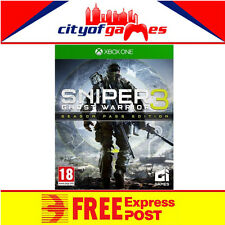Sniper Ghost Warrior 3 Season Pass Edition Xbox One New & Sealed In Stock Now