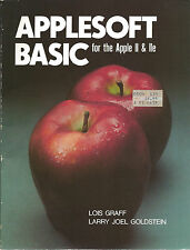 ITHistory (1984) Book: APPLESOFT BASIC Apple II/IIe (Graff/Goldstein)