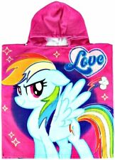 My Little Pony Poncho Hooded Beach Towel