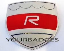 Esmalte Rojo de cromo Volvo R placa de coche placa C30 C70 S60