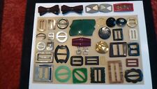 Vintage/Antique Belt Buckles/Slides and Shoe Clips