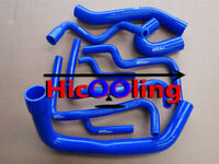 Blue Silicone hose for COMMODORE VT-VX STATESMAN WH Supercharged 3.8L V6 L67