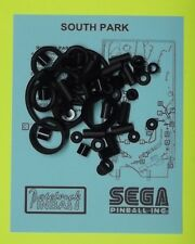 1999 Sega South Park pinball rubber ring kit