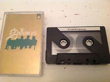 Galliano promo five track  album sampler cassette tape