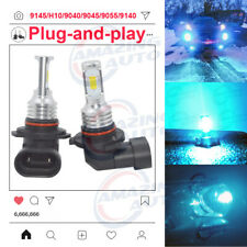 Amazing H10 9145 LED Fog Light Bulbs Conversion Kit Upgrade 35W 8000K Error Free