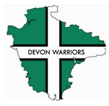 Devon Warriors Devon Flag car stickers