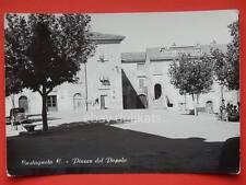 CASTAGNETO Carducci Piazza del Popolo Livorno vecchia cartolina
