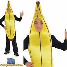 Banana Poop Hot Dog Kids Childs Novelty Funny Fancy Dress Costume