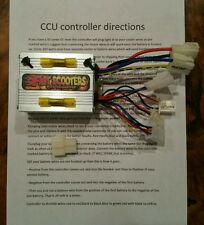 Cruzin Cooler Upgrades heavy duty 500 watt controller/ECM