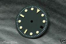 Plain Submariner Sub Watch Dial for ETA 2836 2824 movement Yellow Lume