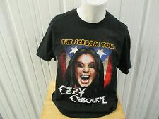 Vintage Anvil Ozzy Osbourne Scream World Tour 2011 Xl Black T-Shirt Preowned