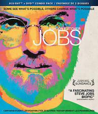 Blu-ray/DVD: Jobs (Ashton Kutcher, 2013, 2-Disc Set, Canadian) New