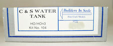 HO/Hon3 Builders In Scale C&S Water Tank Kit #104