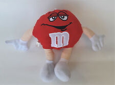 """M&M's World Red Figure Soft Plush Toy 9"""" Collectable Figure"""