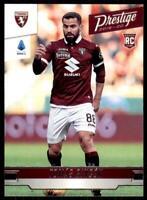 Panini crónicas de fútbol 2019-20 Tomas Rincón Torino Prestige Novato