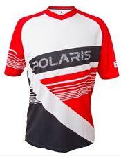 Polaris AM Gravity MTB/Cycling Jersey Red-black-white. Men's Size XL