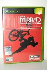 DAVE MIRRA FREESTYLE BMX 2 USATO OTTIMO XBOX ED ITALIANA PAL FR1 38725