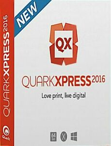 QuarkXPress 2016 for Win & Mac OS - Download