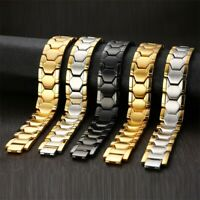 Health Care Magnetic Therapy Bracelet Men Bangle Healing Chain Arthritic Relief