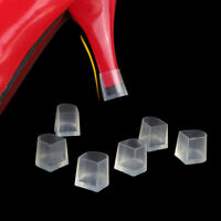 1-5 Pairs Clear Wedding High Heel Shoe Protector Stiletto Cover Stoppers MF