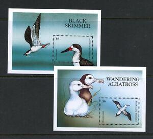 C302  Antigua 1998   Seabirds   sheets      MNH